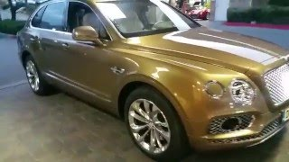 NEW BENTLEY BENTAYGA 1st one FOR SALE review