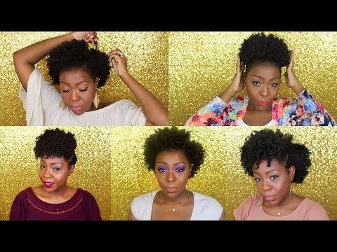 How To Preserve/Maintain Natural Hair Throughout Week/ Days 1- 5