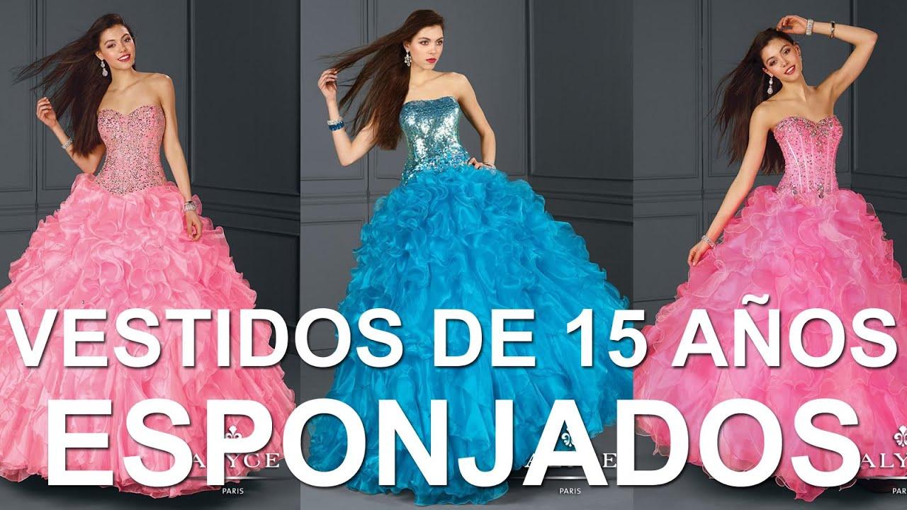 2c26a1a83 Los mejores Vestidos de 15 Años Esponjados - Alyce Paris 2014 - YouTube