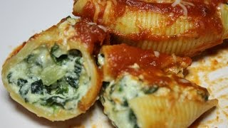 Stuffed Shells With Ricotta And Spinach