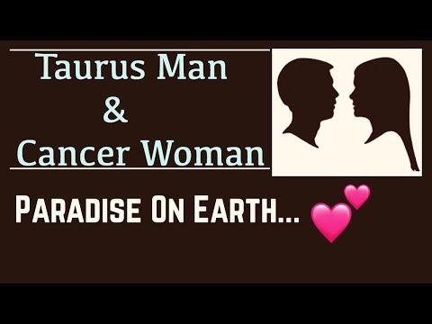 Taurus Man & Cancer Woman