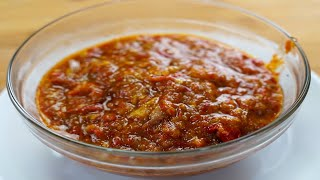 How to make Chili with Shrimp Paste SAMBAL TERASI Tasty and Delicious