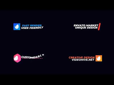 minimal titles and lower thirds best after effects templates youtube
