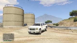Grand Theft Auto 5 - 2015 Chevy Silverado Z71 Mod! - REVIEW - GTA 5