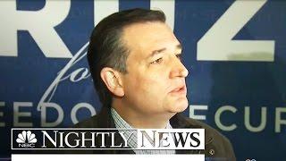 Cruz Unloads On Trump: 'This Man is Utterly Amoral'   NBC Nightly News