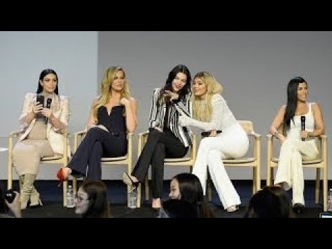 Kardashian and Jenner Sisters Argue Who Has the Best App Interview, Kim Khloe Kendall Kyli