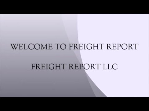 freight report how to use