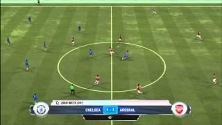 FIFA Soccer 13 - Chelsea v Arsenal - Full Match