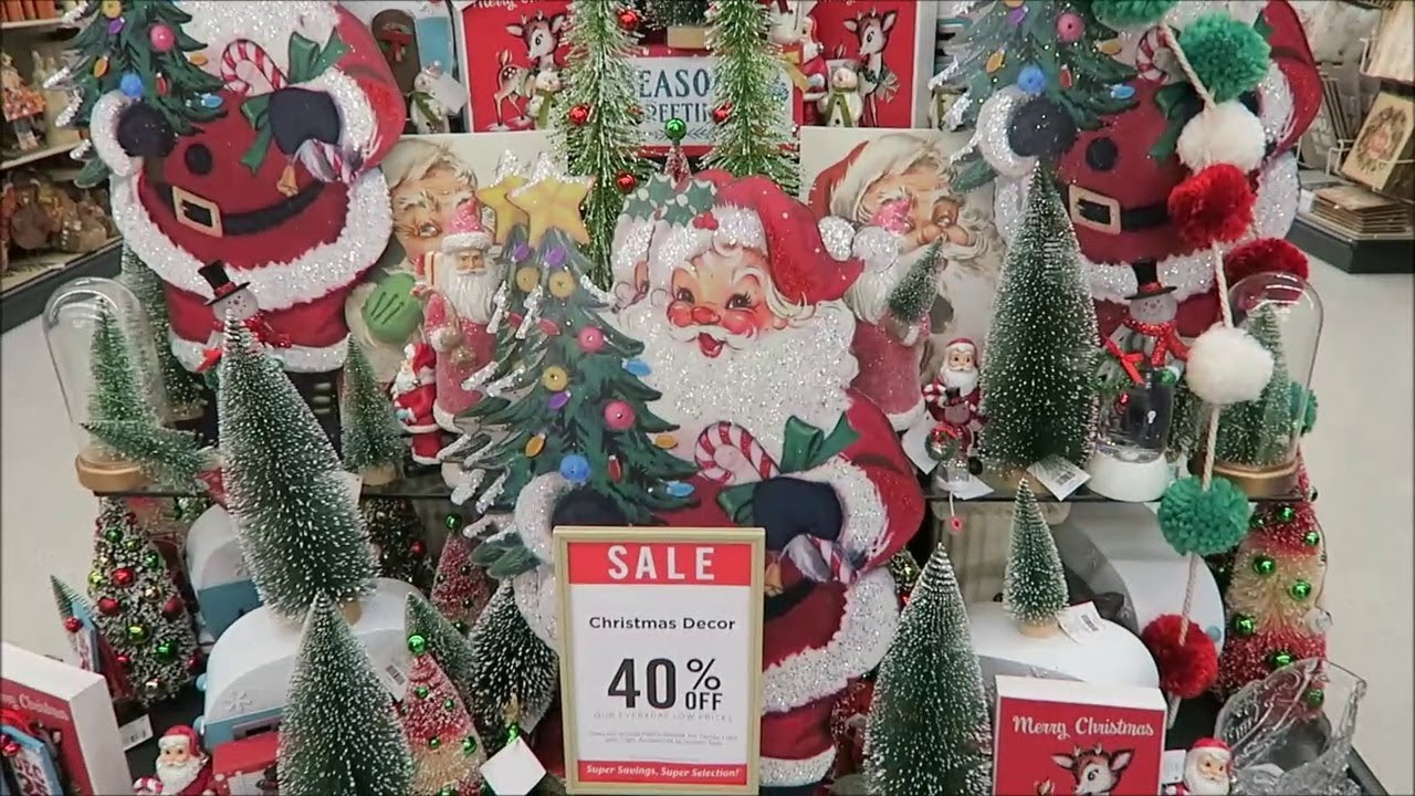 hobby lobby christmas decorations 2017