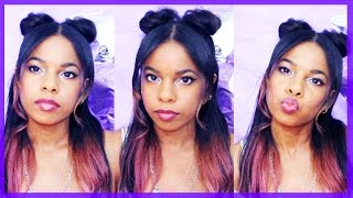 Space Buns, Pig Tails- Half Up Half Down Tutorial ♥