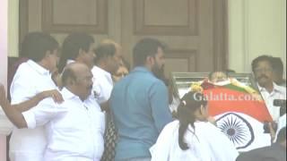 #Rajinikanth #Dhanush, #LathaRajini, #Aishwarya Dhanush pay homage to #Jayalalithaa