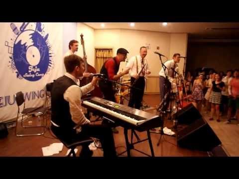 Gordon Webster Band - I Like Pie(with Shim Sham + Jam circle) @Jeju Swing Camp 2013