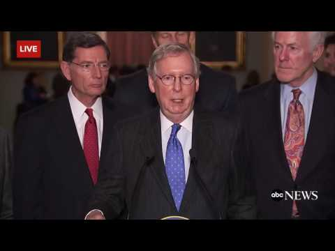 Trump Flag Burning Tweet | McConnell Disagrees with Trump