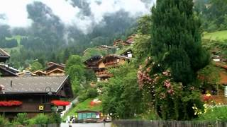 Autriche Tyrol Alpbach le plus beau village fleuri d