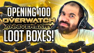 COOL KID OPENS 100 ANNIVERSARY LOOTBOXES