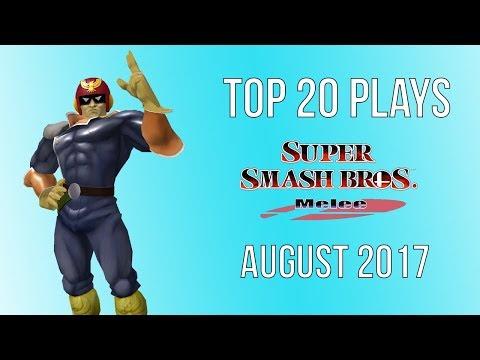 Top 20 SSBM Plays of August 2017 - Super Smash Bros Melee