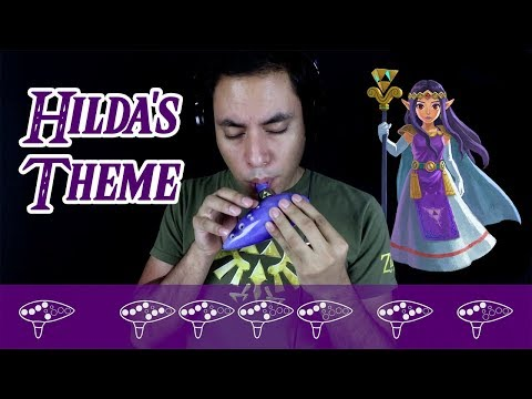 Hildas Theme  Ocarina TutorialPlayalong  David Erick Ramos