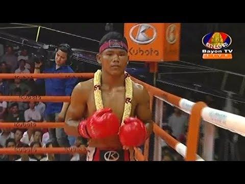 Sok Thy(Kaka) vs Roeunthai(thai), Khmer Boxing Bayon 16 March 2018, Kun Khmer vs Muay Thai