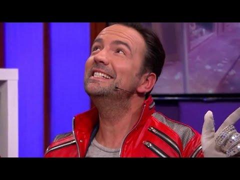 Gerard Ekdom playbackt Billie Jean van Michael Jac - RTL LATE NIGHT