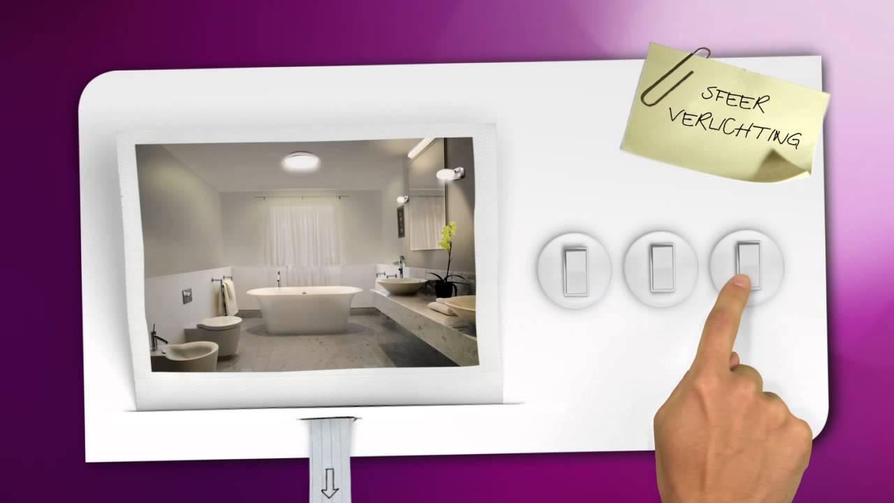 Philips Hue Badkamer : Philips lighting tutorial badkamerverlichting youtube
