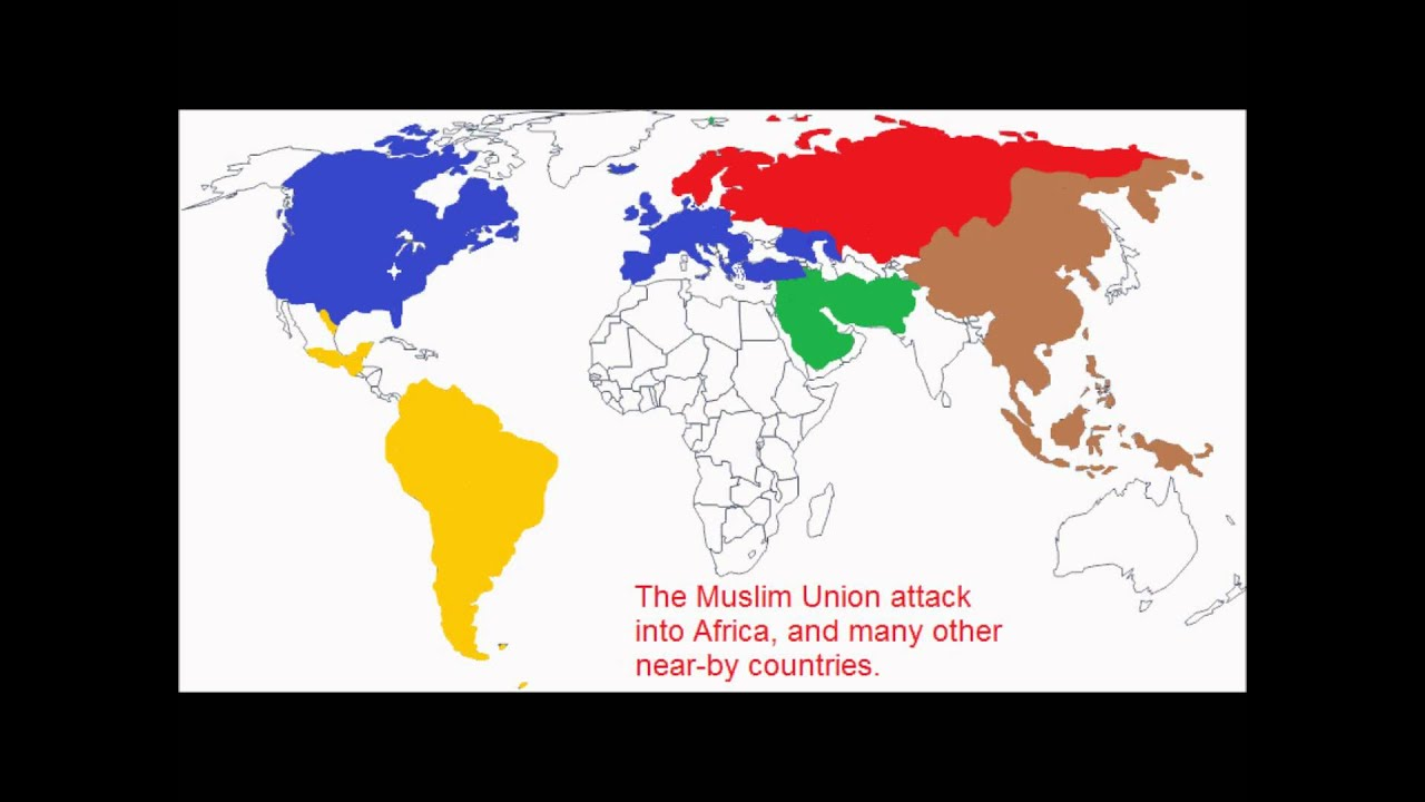 World War 3 Map