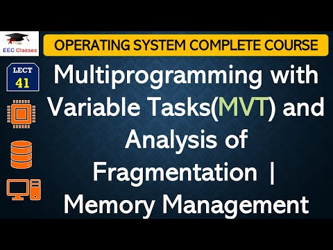 Multiprogramming with Variable Tasks(MVT) with Analysis of Fragmentation