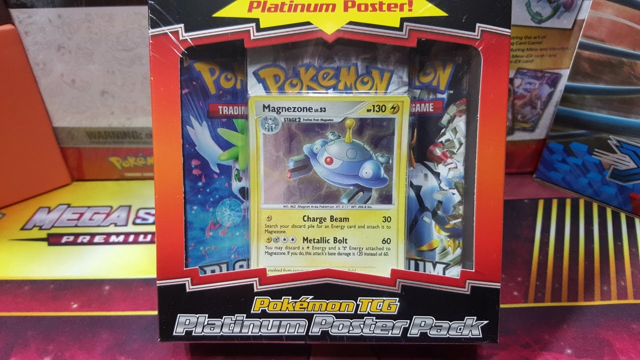 Another Try At Slark Ultra Rare: Opening A Pokemon Platinum Poster Pack Box #1---Vintage