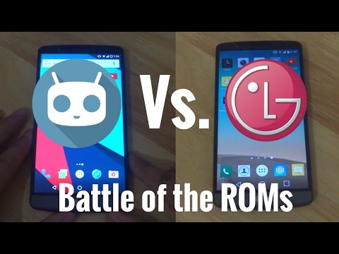 Custom ROM Vs. Stock ROM - CyanogenMod 14.1 Vs LG Stock Marshmallow - LG G3 - Speed Test