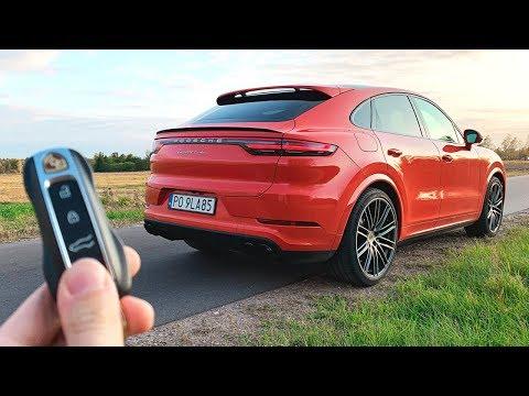 Oto NOWE Porsche Cayenne Turbo Coupe 2020!