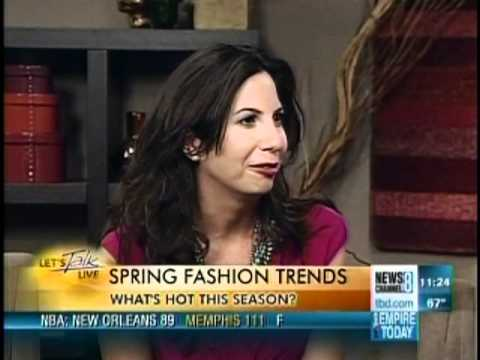 Lauren shows us top Spring Trends to be in style t...