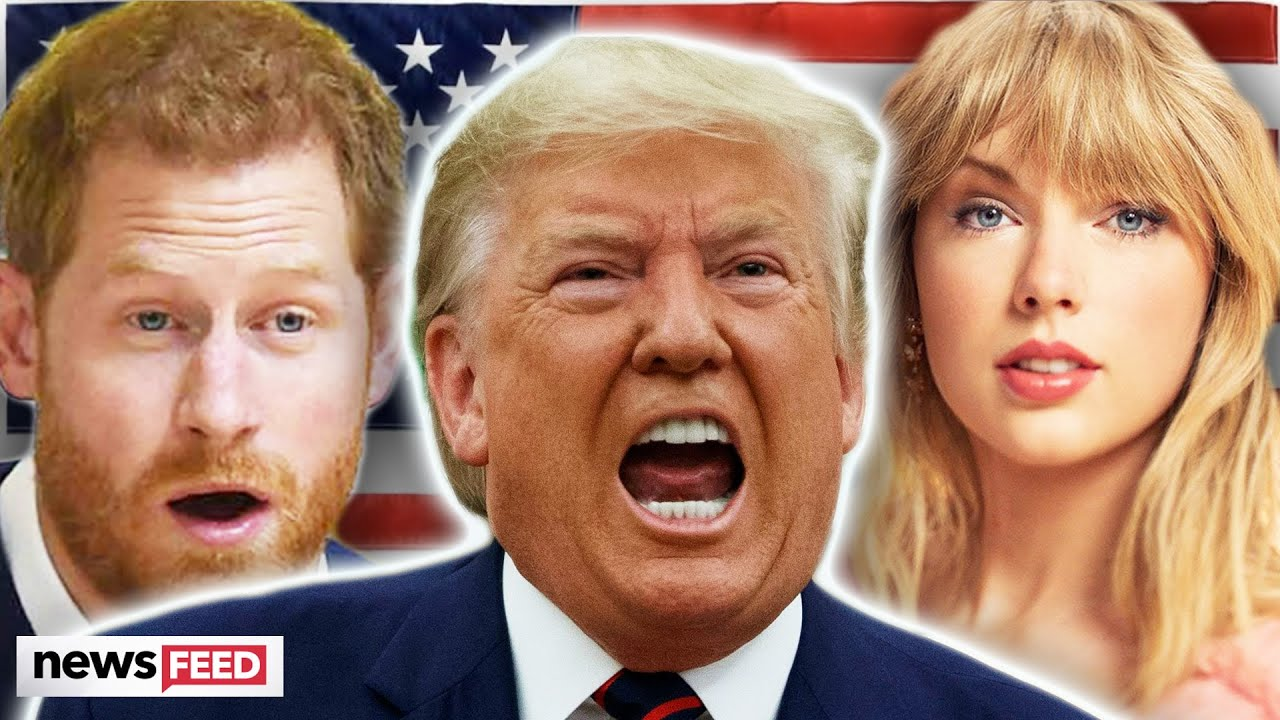 Celebrities Who've WAGED WAR With President Trump