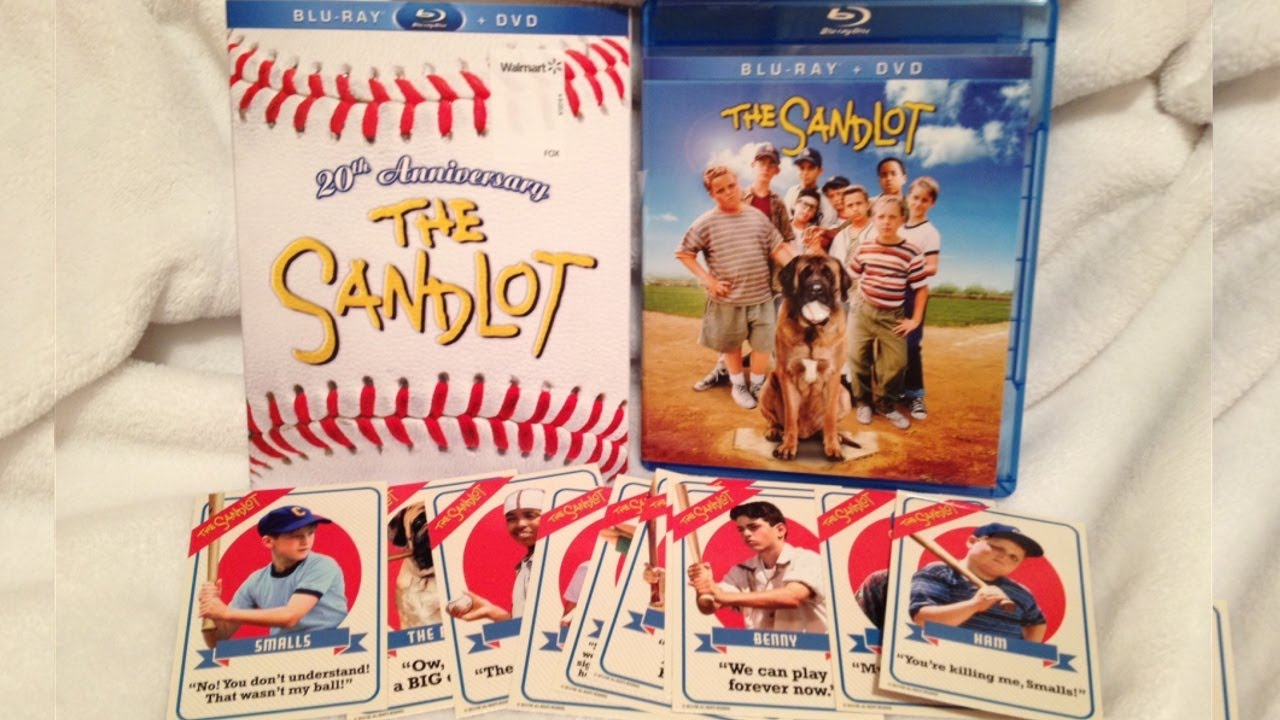 The Sandlot 20th Anniversary Edition Blu Ray Dvd Unboxing