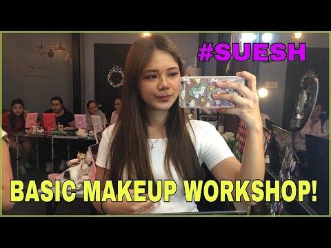 VLOG #3 - BASIC MAKEUP WORKSHOP @ SUESH! | AlyssaTV