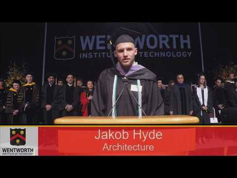 Wentworth Spring Commencement 2018