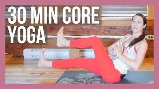 30 min Vinyasa Yoga for Core & Lower Body Strength