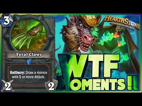 Hearthstone - RNG WTF Moments - Funny and lucky Rng Moments 151