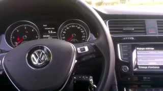 Volkswagen Golf 7 - Système ACC