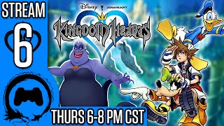 KINGDOM HEARTS Part 6 - Stream Four Star - TFS Gaming