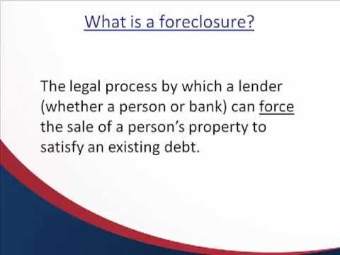 Texas Foreclosure Overview