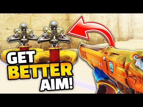 Overwatch GET BETTER AIM Guide! Insane Aim Training Mode!