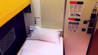 Amsterdam - Berlin in a private CityNightLine Sleeping Car Cabin
