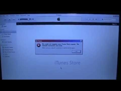 "How to fix iTunes ""network connection was reset"" error"