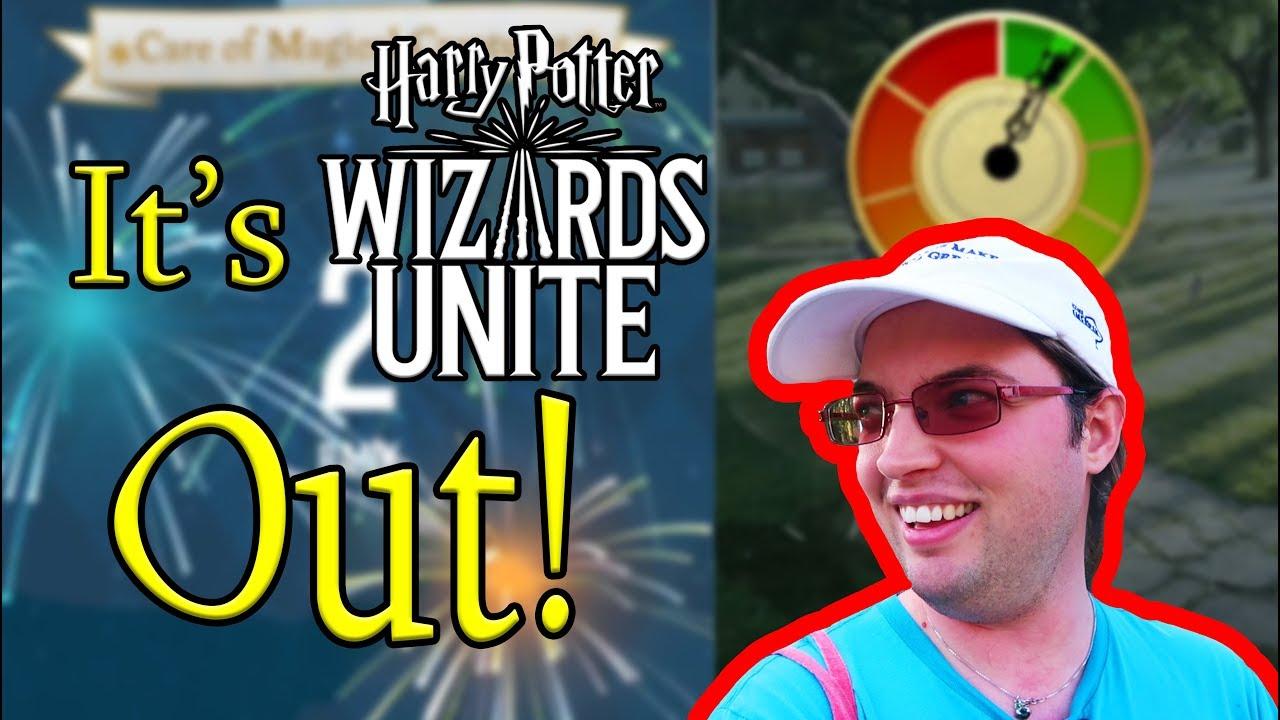 Wizards Unite! First look in Sweden
