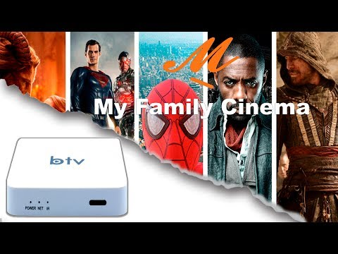 Catálogo Completo de Filmes & Séries presente no My Family Cinema Btv  Box.