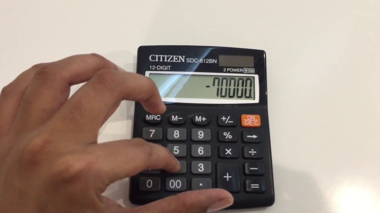 How To Find Out Percentage From Calculator Easy Way