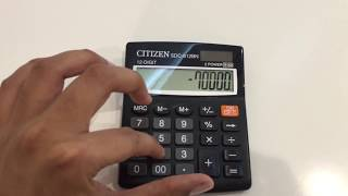 How to find oขt Percentage from Calculator Easy Way