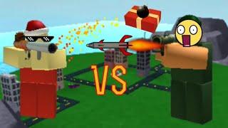 Elf VS Tuber Roblox Tower Battles