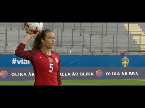(1) USWNT vs Sweden 6.8.2017