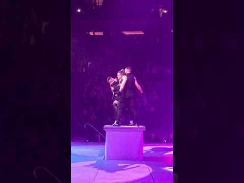 Ariana Grande Bad Decisions  at Madison Square Garden New York City Dangerous Woman Tour