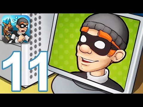 Robbery Bob - Gameplay Walkthrough Part 11 - All Suits And Items (iOS, Android)